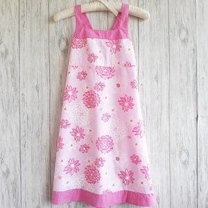 Lilly Pulitzer Floral Pink Summer Dress Size 12